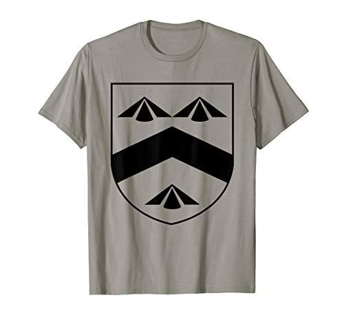 Walsh Coat of Arms T-Shirt Irish Crest Ireland Celtic Tee (Classic Walsh T-shirt)