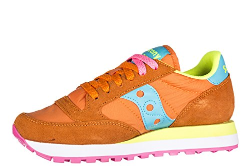 Jazz Orange SauconySaucony Blue Orange Donna Ginnastica da Original Basse Scarpe fZZxTqg