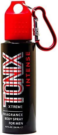 TONIX Body Spray For Men, Intense, 8 Fluid Ounce
