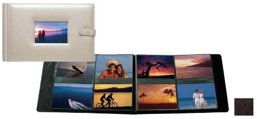 Raika RO 177 MOCHA 4in. x 6in. Frame Album with 8 Photo - Mocha by Raika (Image #1)