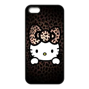iPhone 5,5S Phone Case Black Hello-Kitty UYUI6750198