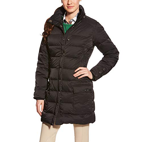 ARIAT Women's Trace Down Coat Down Coat Black Size X-Small