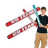 12 Inflatable Go Team! Noisemaker Sticks - Games & Activities & Inflatables