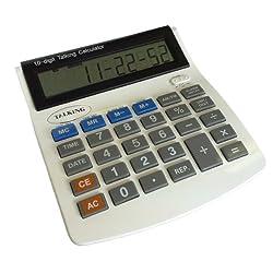 Talking Calculator and Talking Alarm Clock
