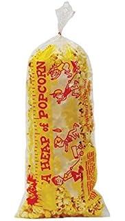 Gold Medal 2125 Heap-O-Corn Popcorn Plastic Bag44; 1000 Count