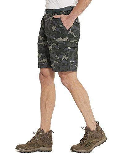 50 Pantalones Upf Baleaf Cortos Gris Senderismo Rápido Hombre Camuflado De Para secado zx7OnqxwF