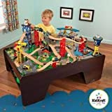 KidKraft Super Highway Train Set & Table Combo