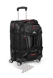 High Sierra AT7 Spinner Luggage, Black, 22-Inch
