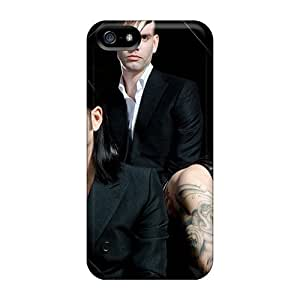 First-class Case Cover For Iphone 5/5s Dual Protection Cover Placebo Alternative Rock Music by mcsharks