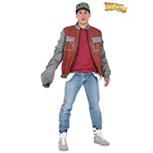 Hing Ting Textile mens Back to the Future Marty McFly Jacket