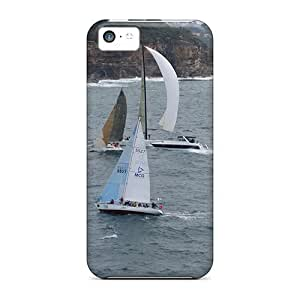 Travers-Diy Iphone 5c Hard Back With Bumper Gel case cover Water Sports eHwBq9NQHJa
