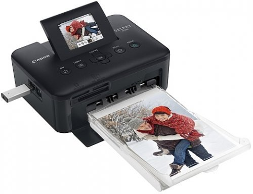 Canon SELPHY CP800 Black Compact Photo Printer (4350B001) by Canon