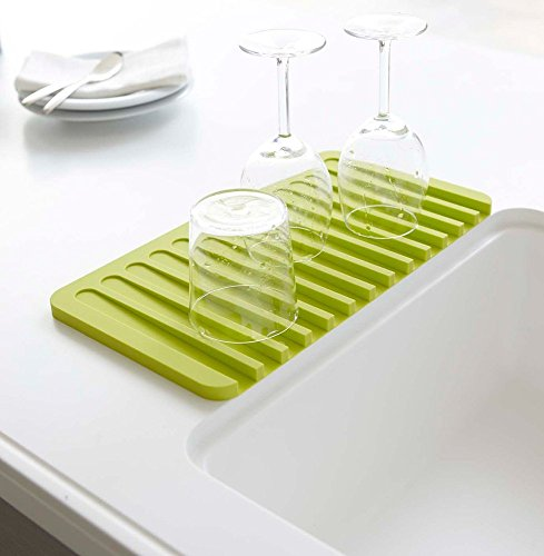 Talented Kitchen Self Draining Silicone Drying Mat. 15 x 8 I