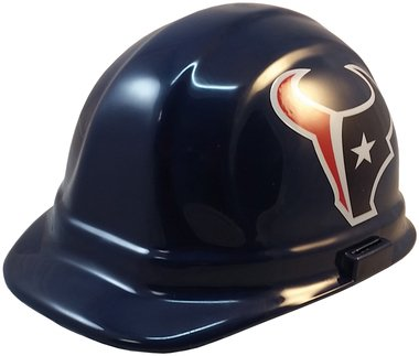 Texas American Safety Company NFL Houston Texans Hard Hats with Ratchet Suspension 1