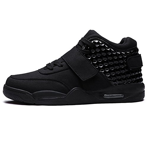 Seoky Men's Autumn & Spring Casual Fashion Sneakers Athletic Shoes (10.5 US, Black) (Mens Casual Fashion Sneakers)