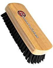 Adam's Cockpit Brush - Designed to Deep Clean Carpet & Upholstery, Leather Interior Without Harming Your Interior Surfaces - Durable Premium Quality Nylon Bristles