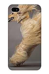 Emersonfong Iphone 4/4s Well-designed Hard Case Cover Animal Afghan Hound Dog Protector For New Year's Gift