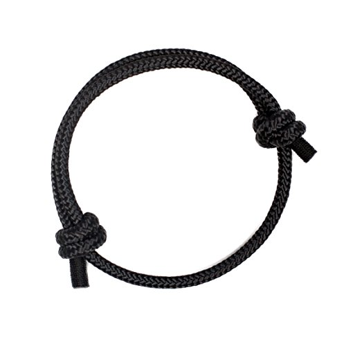 Wind Passion Black Braided Bracelet for Stylish Men