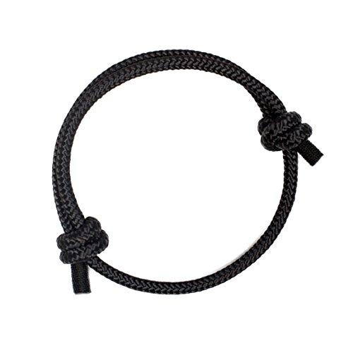 Highest Quality Black Braided Bracelet for Stylish Men