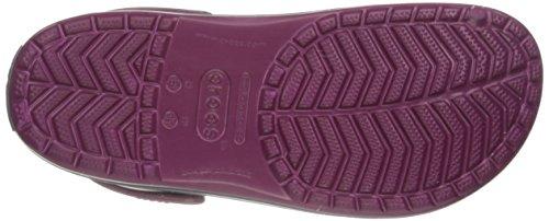 Crocs Crocs Violet Adulte Sabots Plum Crocband Navy Mixte Sabots Crocband qwxUwgpET