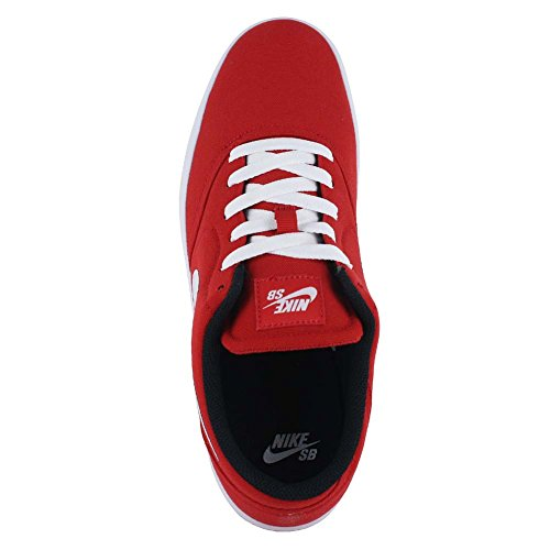Nike Sb Controllare CNV Skate Shoe UNIVERSITY RED/WHITE BLACK
