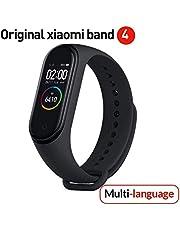 Versione globale Xiaomi Band 4 intelligente schermo a colori braccialetto frequenza cardiaca palestra musica Bluetooth 5.0 50 m impermeabile pedometro e notifiche di messaggistica