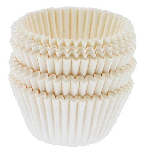 Mini, 100-Count, White (White Mini Muffin)