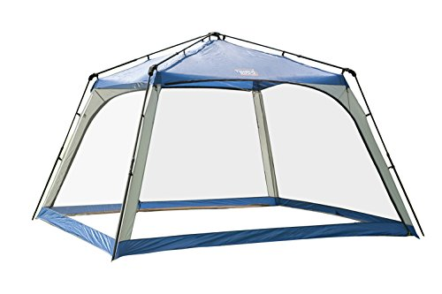 Timber Ridge Instant Screened Cabin Tent Camping Canopy Screenhouse for Outdoor,11 x 11 Feet
