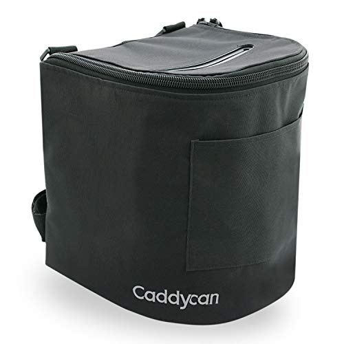Caddycan Junior Portable Multi-Purpose Weather Resistant Utility Boating and Camping Storage Bag, Black