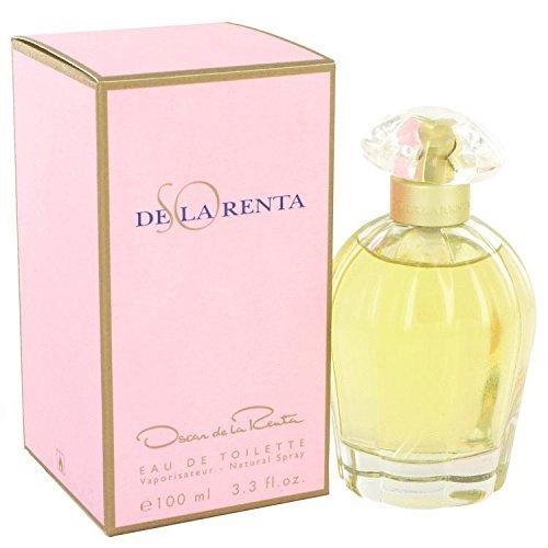 (SO DE LA RENTA by Oscar de la Renta Eau De Toilette Spray 3.4 oz for Women - 100% Authentic)