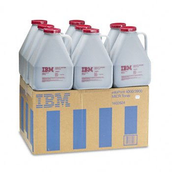 IBM 1402824 MICR Toner, 8/Box, Black (Case of 2)