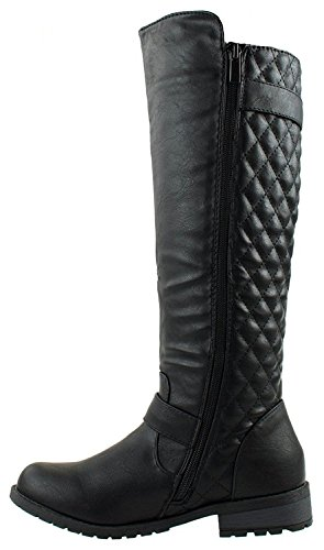 JJF Shoes Forever Link Mango-21 Lady Boot Blk 7.5
