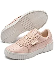 PUMA Women's CALI Emboss WN's Sneakers, Cream Tan-Cream Tan