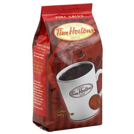 Tim Hortons Top-grade Grind Ground Coffee, 12 Ounce (Pack of 6)