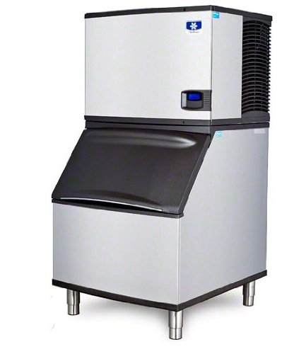 Manitowoc ID-0452A_B-570 420 Lb Air Cooled-Full Cube Ice Machine w/ Storage Bin by Manitowoc