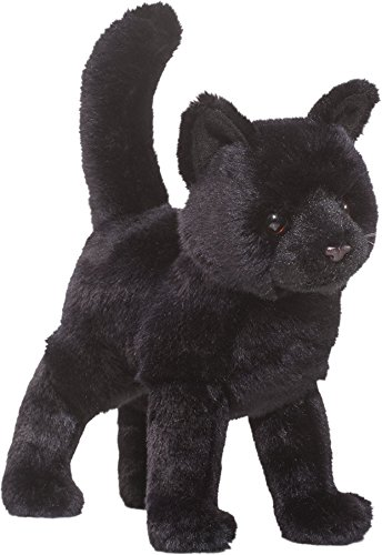 Realistic Cat Whiskers Halloween (Cuddle Toys 1867 Midnight Black Cat Plush)