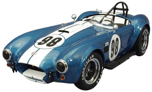 Shelby Cobra 427 S/C Blue #98 Racing Version 1/18 by Kyosho 08015SC