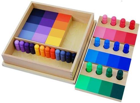 Amazon.com: Montessori Color resemblance Sorting tarea: Baby