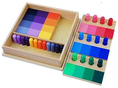 Montessori Color Resemblance Sorting Task (Montessori One Year Old)