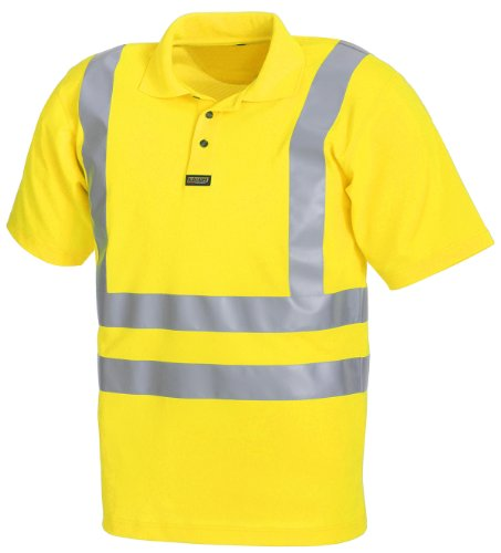 Blakläder Poloshirt Warnschutz Klasse 3 3310, Farbe:gelb;Größe:XXXL