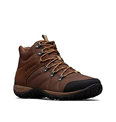 Columbia Mens 1718151 Men's Peakfreak Venture Mid Lt Boot, Breathable, High-Traction Grip Brown Size: 7.5