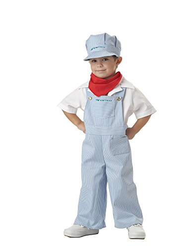 Train Engineer Costumes (California Costumes Amtrak Train Engineer Costume, 3-4)