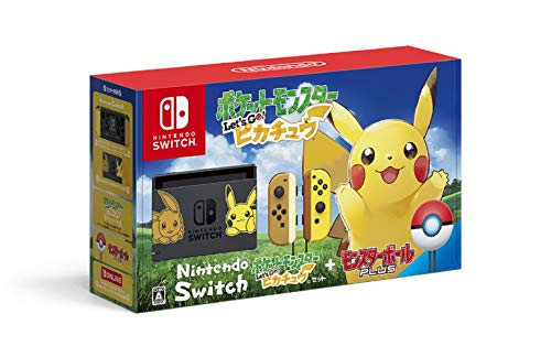 NSW NINTENDO SWITCH PIKACHU & EEVEE EDITION WITH POCKET MONSTERS LET'S GO! PIKACHU + MONSTER BALL PLUS [LIMITED EDITION] (JAPAN)
