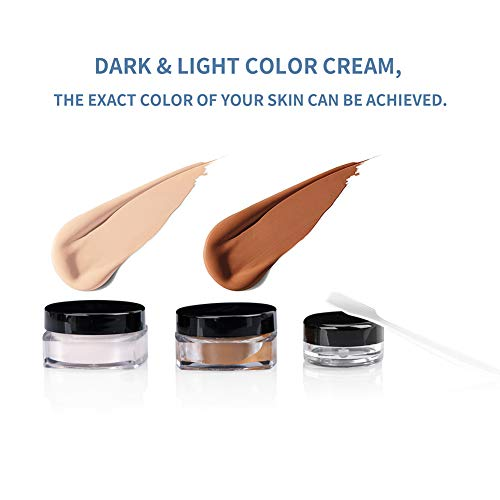 Tattoo Cover Up Makeup Waterproof Concealer Set, Professional ...
