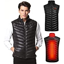SnowWolf Winter Outdoor USB Infrared Cotton Heated Vest Electric Thermal Waistcoat Clothing Heating Vest