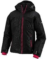 Columbia Big Girls' Snow Flame Jacket in Black