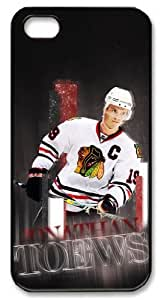 LZHCASE Personalized Protective Case for iPhone 5 - NHL Chicago Blackhawks #19 JONATHAN TOEWS