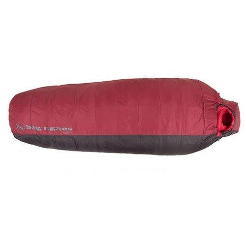 Big Agnes Encampment 15F Synthetic Sleeping Bag (Wide Long Right) - Crimson