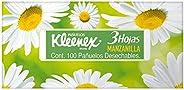 Kleenex Pañuelos Faciales de Manzanilla, Paquete con 100 piezas de triple hoja