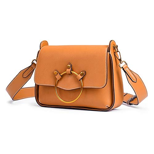 Pelle Donna color Da Black Borsa Brown Baachang In qSHxE